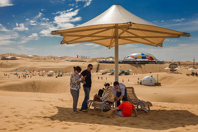 内蒙古响沙湾旅游景区 - 国家aaaaa级旅游景区 - 内蒙古鄂尔多斯市